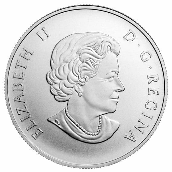 2014 Polar Bear 1/2oz .9999 Silver Coin $50 - Royal Canadian Mint 5