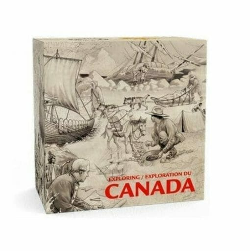 2014 Exploring Canada - The Pioneering Mapmakers 3/4oz .9999 Silver Coin $15 - Royal Canadian Mint 3