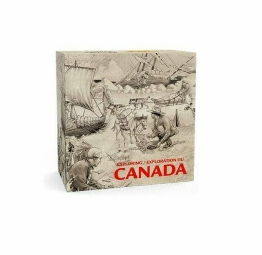2014 Exploring Canada - The West Coast Exploration 3/4oz .9999 Silver Coin $15 - Royal Canadian Mint 2