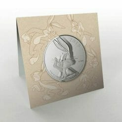 2015 Looney Tunes - Bugs Bunny 1/4oz .9999 Silver Coin $20 - Royal Canadian Mint 5