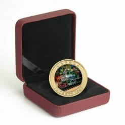 2009 50c Holiday Toy Train Coin - Lenticular / Hologram Coin - Royal Canadian Mint 7