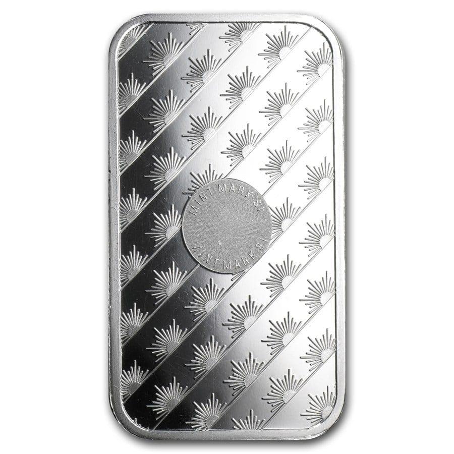 Sunshine Minting 1oz .999 Silver Minted Bullion Bar 2