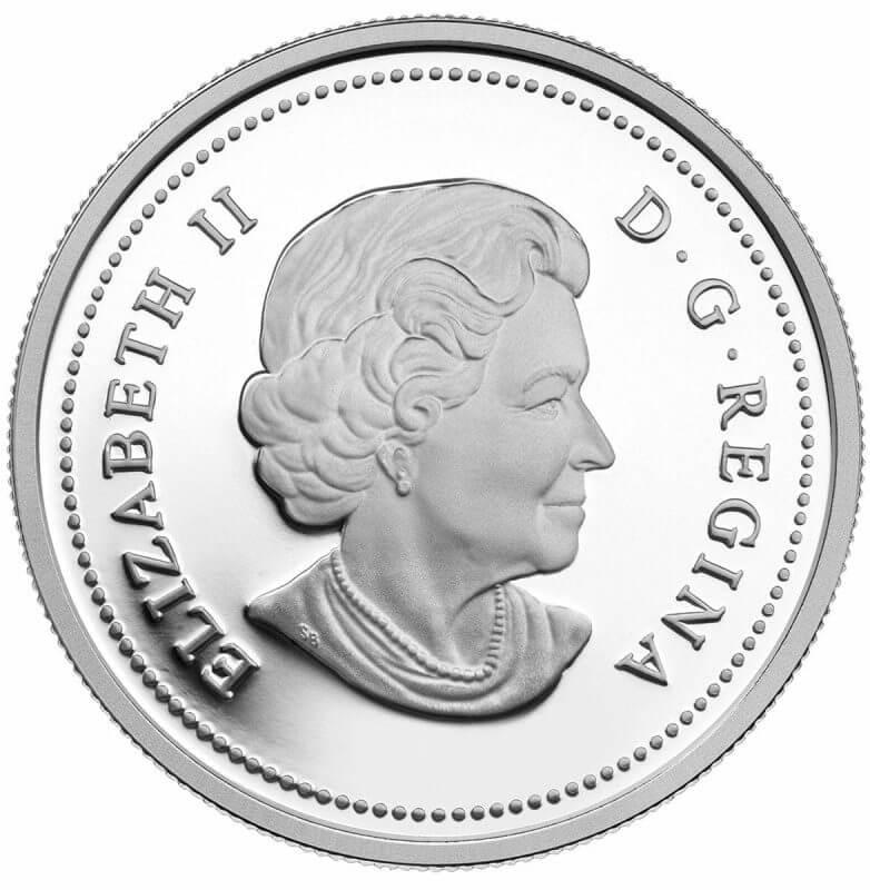 2014 Fine Silver Coin - Exploring Canada - The West Coast Exploration