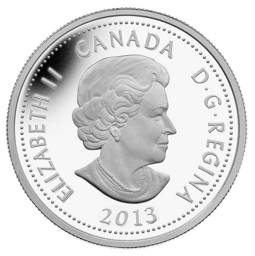 2013 Fine Silver Coin de Salaberry
