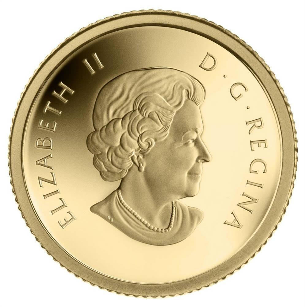 2013 Fine Gold Coin - Bald Eagle