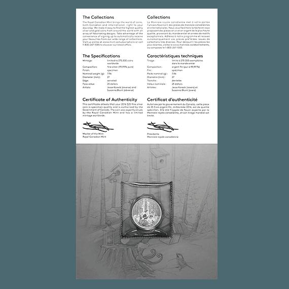 2016 Fine Silver Coin – Woodland Elf