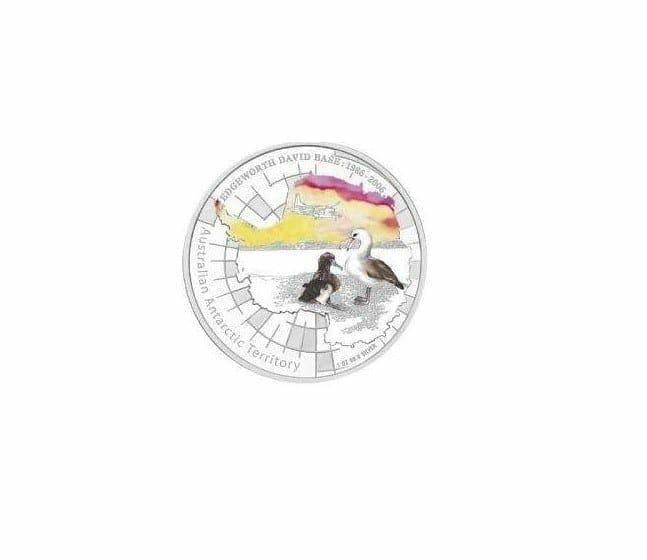1986 - 2006 Australian Antarctic Territory - Edgeworth David - 1oz .999 Silver Proof Coin - Perth Mint 1