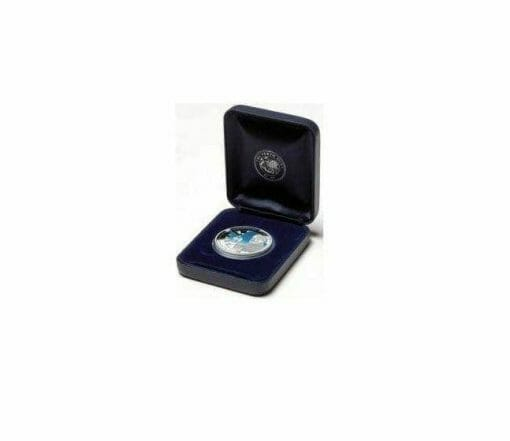 1909 - 2009 Australian Antarctic Territory - South Magnetic Pole - 1oz .999 Silver Proof Coin - Perth Mint 1