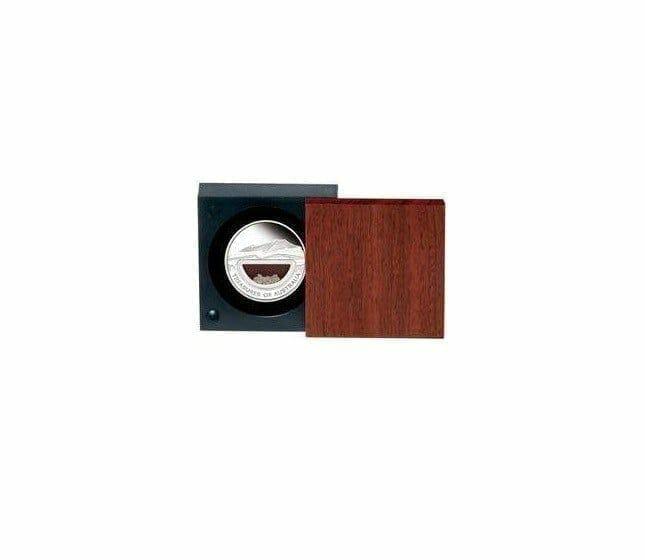 2009 Treasures of Australia - Diamonds - 1oz .999 Silver Proof Locket Coin - Perth Mint 2