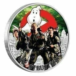 2017 Ghostbusters Crew 1oz Silver Coin - The Perth Mint 999 & 9999