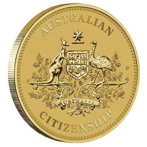 2017 Australian Citizenship $1 Coin - Aluminium Bronze - The Perth Mint