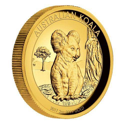 2017 Gold Proof Koala Coin Series – 2oz Coin - The Perth Mint 9999