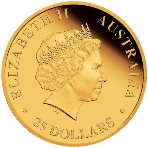 Australian Kangaroo 2018 1/4oz Gold Proof Coin - The Perth Mint 9999
