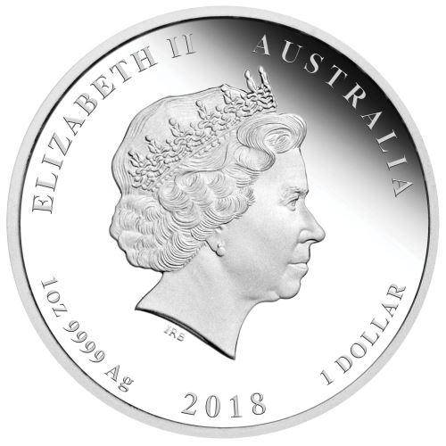 The ANZAC Spirit - We Will Remember Them 2018 1oz Silver Proof Coin