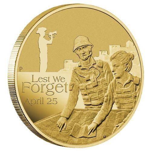 2017 ANZAC - Australian Intelligence Corps $1 Coin - Aluminium Bronze - The Perth Mint