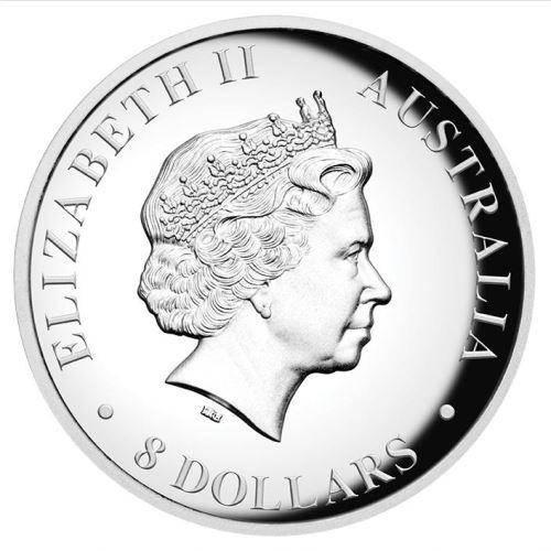 2016 Australian Koala 5oz Silver Proof High Relief Coin - The Perth Mint 999 & 9999