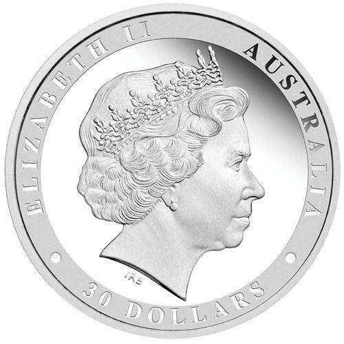 2016 Australian Kookaburra 1 Kilo Silver Proof Coin - The Perth Mint 999 & 9999