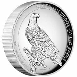 2016 Australian Wedge-Tailed Eagle 1oz Silver Proof High Relief Coin - The Perth Mint 999 & 9999