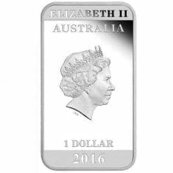 Australian Posters of WWI - War Bonds 2016 1oz Silver Proof Coin - The Perth Mint 999 & 9999