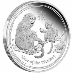 2016 Year of the Monkey - 1 Kilo - Silver Coin – The Perth Mint 999 & 9999