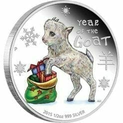2015 Baby Goat 1/2oz Silver Proof Coin - The Perth Mint 999 & 9999