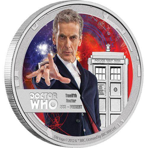 Doctor Who – Twelfth Doctor 1/2oz Silver Proof Coin - The Perth Mint 999 & 9999