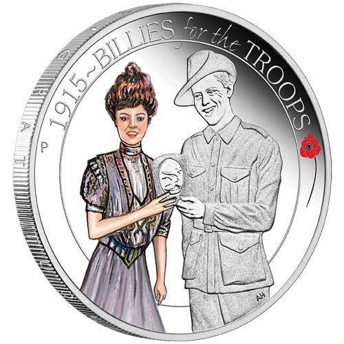 The ANZAC Spirit 2015 1/2oz Silver Three-Coin Set