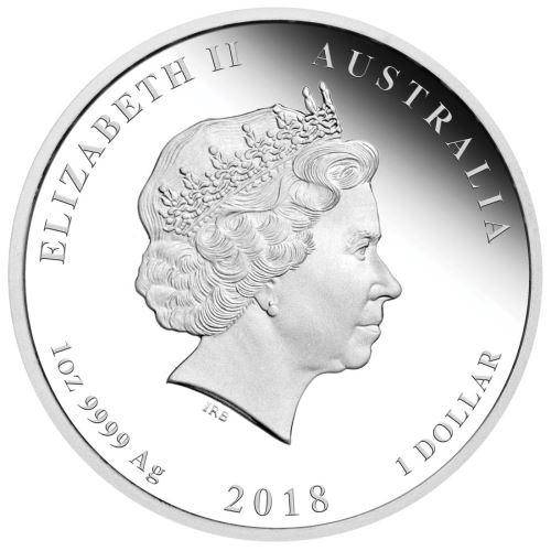 2018 Year of the Dog - 1 oz. - Silver Coin – The Perth Mint 999 & 9999