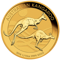 1/10 Gold Coin - The Perth Mint 9999