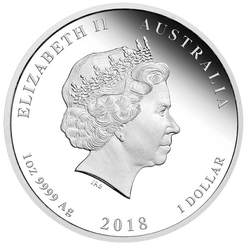 2018 1 oz - Coloured Dog - Silver Coins – The Perth Mint 999 & 9999