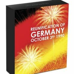 2010 Reunification of Germany 1oz .999 Silver Proof Coin - Perth Mint - CoA #1934