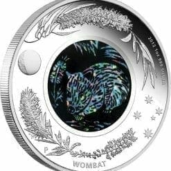 2012 Australian Opal Series - The Wombat - 1oz .999 Silver Proof Coin - Perth Mint