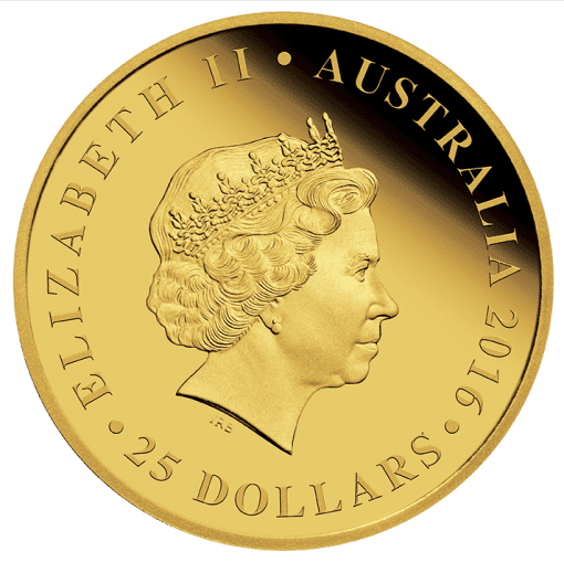 RSL Centenary 2016 1/4oz Gold Proof Coin - The Perth Mint 9999
