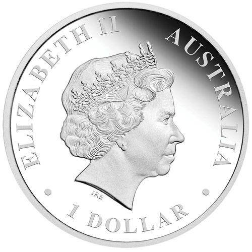 Australian Antarctic Territory Series – Elephant Seal 2015 1oz Silver Proof Coin