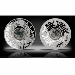 2009 International Year of Astronomy - $5 Meteorite Coin - 50g .999 Silver Proof Coin - Royal Australian Mint
