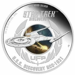 2018 Star Trek: Discovery 1oz .9999 Silver Proof Two Coin Set - The Perth Mint