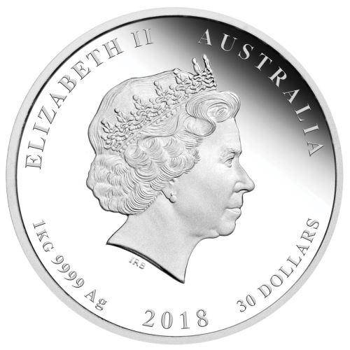 2018 Year of the Dog - 1 Kilo - Silver Coin – The Perth Mint 999 & 9999