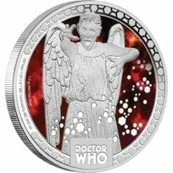 2014 Doctor Who Monsters - Weeping Angels 1/2oz Silver Proof Coin - The Perth Mint 999 & 9999