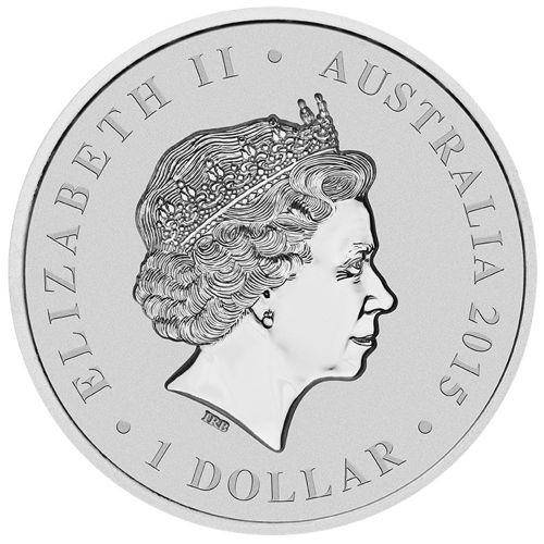 H.M. Queen Elizabeth II – Longest Reigning Monarch 2015 1oz Silver Intaglio Coin - The Perth Mint 999 & 9999