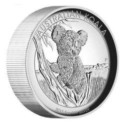 2015 Australian Koala 5oz Silver Proof High Relief Coin - The Perth Mint 999 & 9999