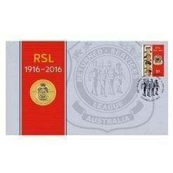 RSL Centenary Stamp and Coin Cover - The Perth Mint