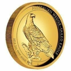 2016 Australian Wedge-Tailed Eagle 2oz Gold Proof High Relief Coin - The Perth Mint 9999