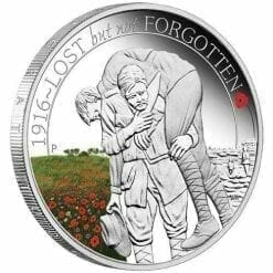The ANZAC Spirit 2016 1/2oz Silver Three-Coin Set