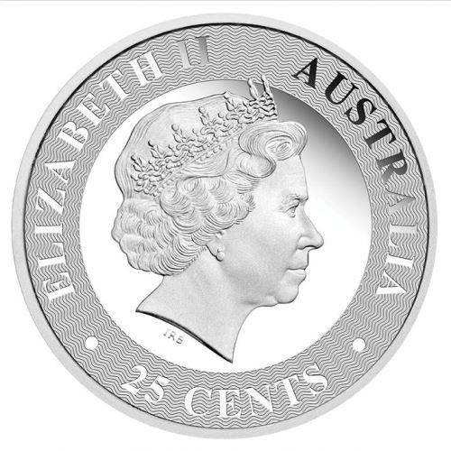 2016 Australian Kangaroo 1/4oz Silver Proof Coin - The Perth Mint 999 & 9999