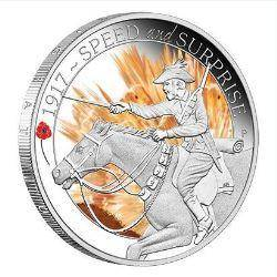The ANZAC Spirit 1/2oz Silver Three-Coin Set