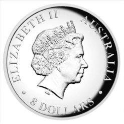 2017 Australian Kookaburra 5oz Silver Proof High Relief Coin - The Perth Mint 999 & 9999