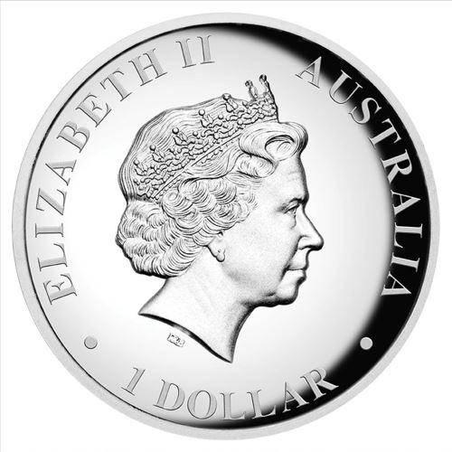 2017 Australian Kookaburra 1oz Silver Proof High Relief Coin - The Perth Mint 999 & 9999