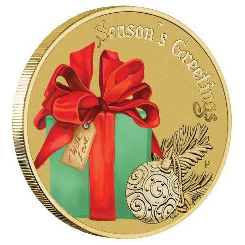 2017 Christmas Stamp and Coin Cover - The Perth Mint
