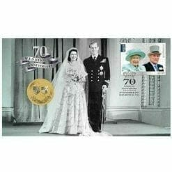 2017 Royal Wedding Stamp and Coin Cover  - The Perth Mint