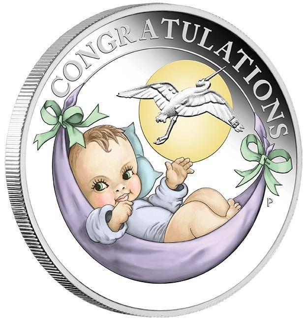 2018 Newborn 1/2oz .9999 Silver Proof Coin - The Perth Mint